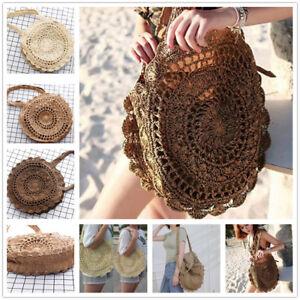 Stylish-Summer-Women-LadyGirl-Beach-Straw-Shoulder-Bag-Handbag-Tote-Crochet-Bag