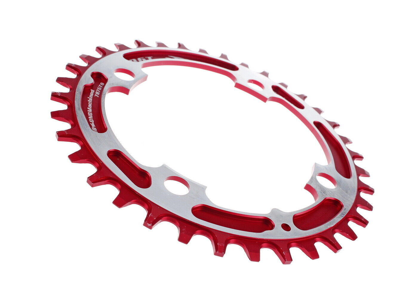 Aerozine Xone Mountain Bicycle Bike Single Chainring for Shimano Sram 36T Red