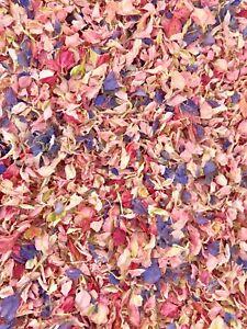 Pink-Lilac-Delphinium-Petals-Natural-Biodegradable-Wedding-Confetti-Dried-Flower