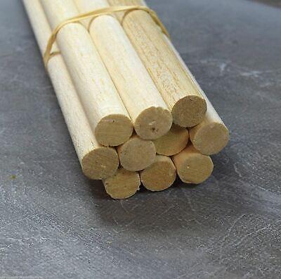 """Wws Balsa Wood Dowel 16mm (5/8) Diameter 305mm (12"""") Long - 9 Pack – Model"""