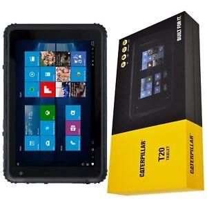 Bnib 8 Caterpillar Cat T20 64gb Factory Unlocked Wi Fi 4g Lte Rugged Tablet Oem Ebay