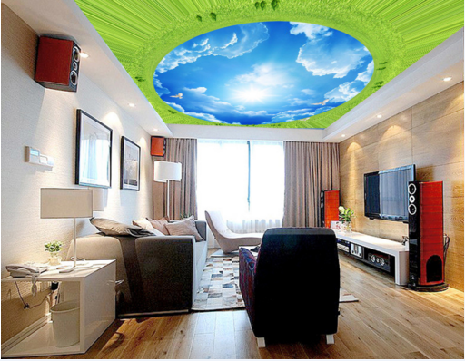 3D Clouds Sky Bird 811 Wall Paper Wall Print Decal Wall Deco AJ WALLPAPER Summer