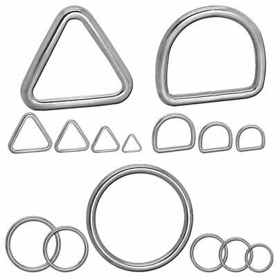 Edelstahl-Rundringe e Anello-D O-Ring Anelli a Forma di D Acciaio Inox