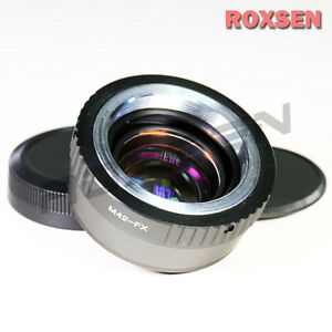 Focal-Reducer-Speed-Booster-Adapter-M42-screw-mount-lens-to-Fujifilm-X-Pro1-FX