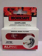 ALPINE worksafe EAR plugs-special lavoro filters-cheapest PREZZO SU EBAY