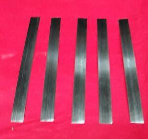 Spring steel strip Spring band steel 9.5mm x 2.0mm X 450mm CS95  carbon steel.