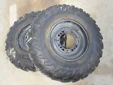 polaris 400l sportsman magnum 425 xplorer 500 1995 front rims wheels tires black