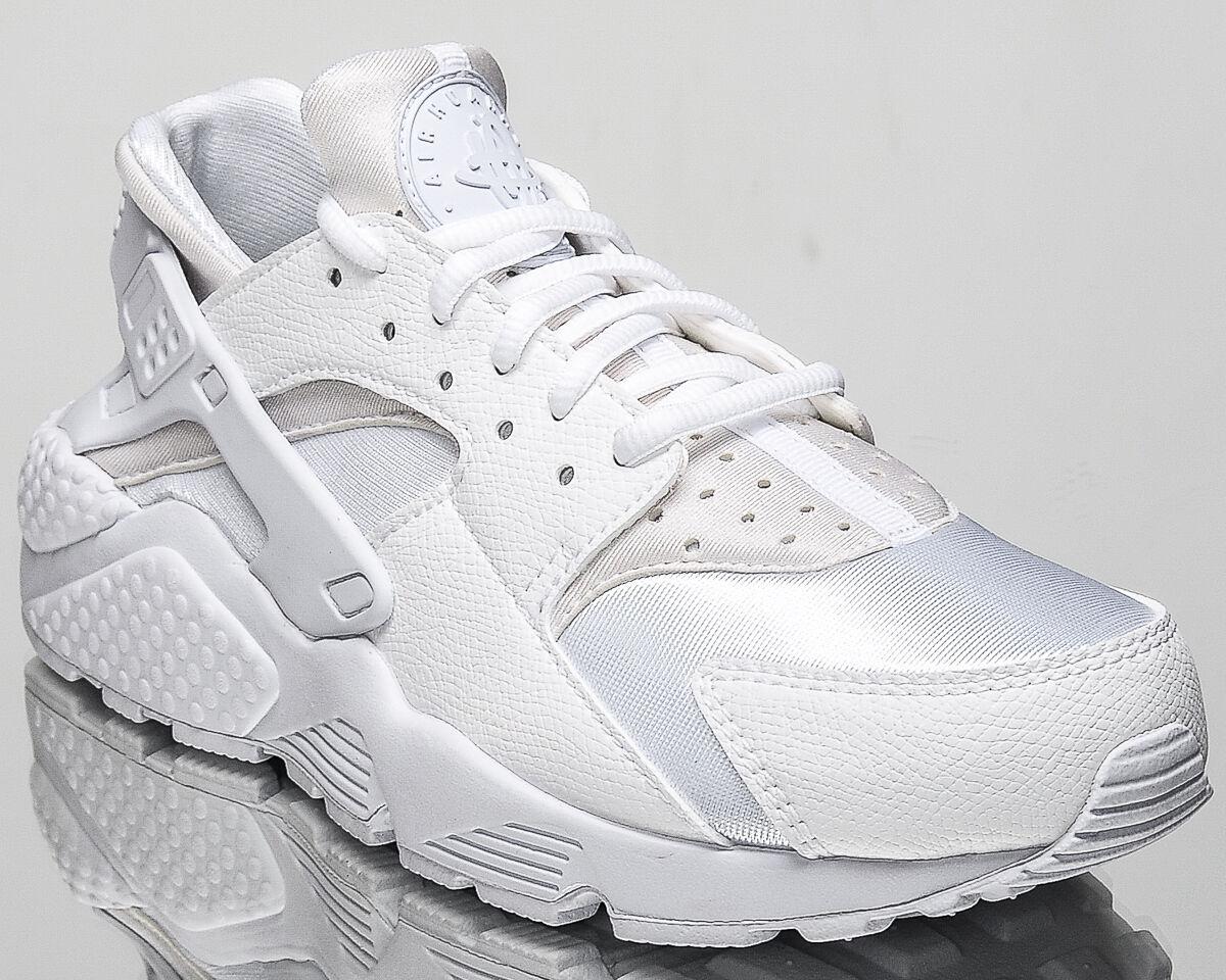 Nike femmes  Air Huarache Run femmes Blanc lifestyle Baskets NEW all Blanc femmes 634835-108 9a63c9