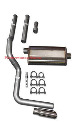 88-01 Dodge Ram Mandrel Bent Exhaust w// Magnaflow Muffler
