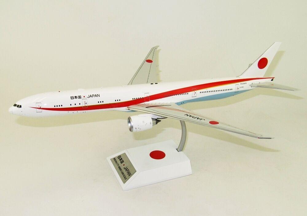 IF7773JP001 1 200 JAPAN AIR SELF-DEFENSE FORCE BOEING 777-300 N509BJ WITH STAND