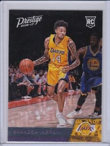 2016-17-Prestige-Los-Angeles-Lakers-Basketball-Card-152-Brandon-Ingram-RC
