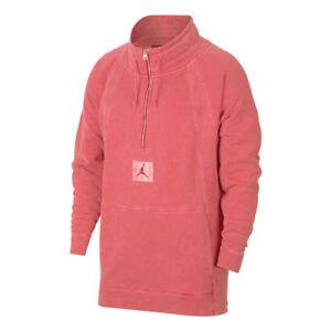 edec0c21c34a39 Nike Jordan JSW Wings Washed Pullover Men Sportswear New Red Size M ...