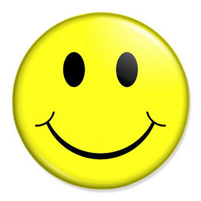 "Smiley Ninja 25mm 1/"" Pin Badge Button Fun Humour Retro Emo"