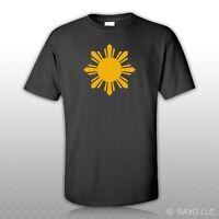 Philippines Sun T-shirt Tee Shirt Gildan S M L Xl 2xl 3xl Cottonfilipino 2