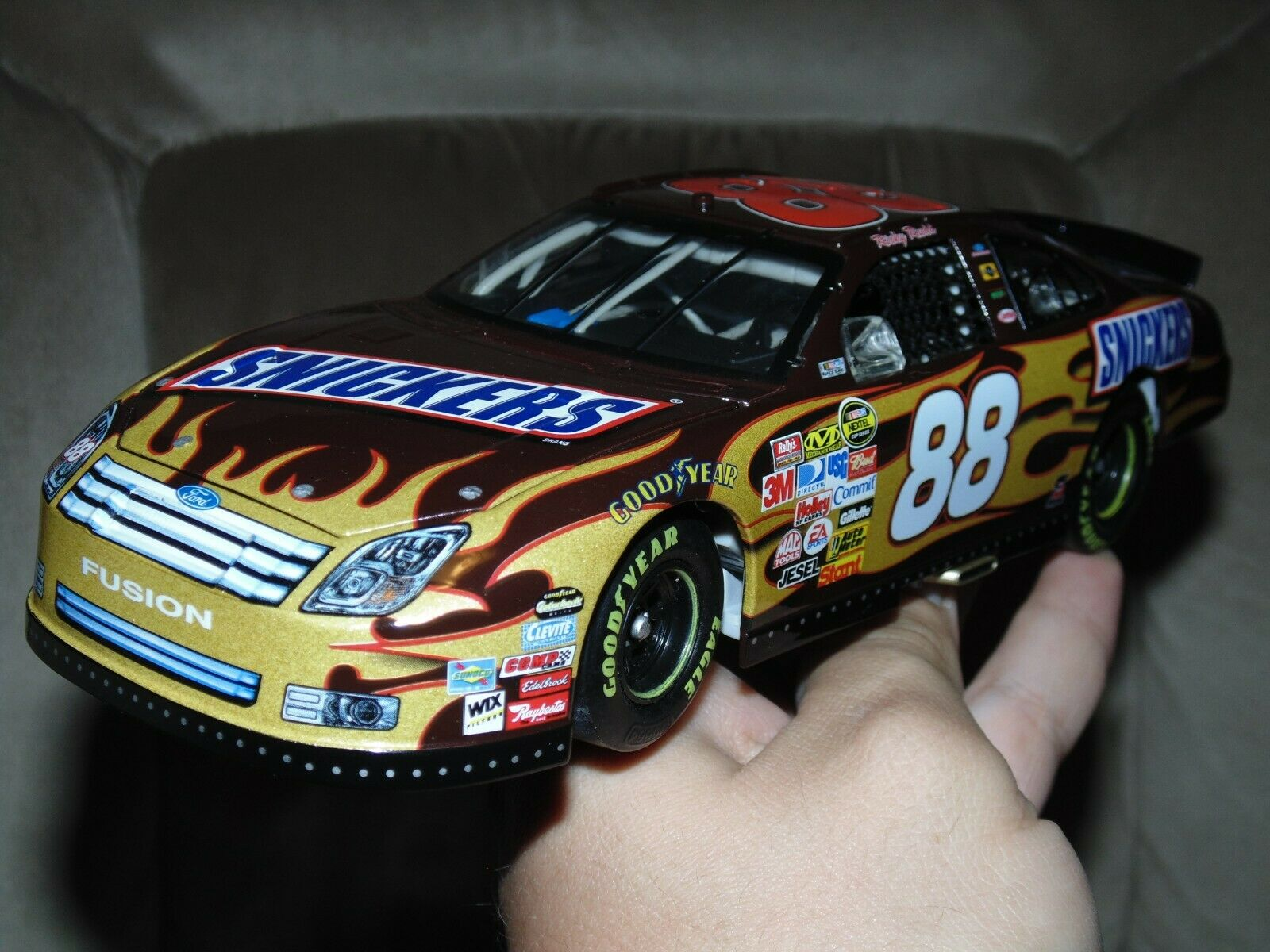 Acción Ricky Rudd Snickers Platino 1 24 2007 Ford Fusion