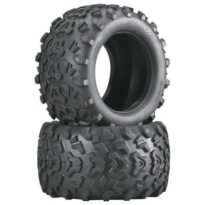 "Traxxas 4973 Maxx Tires w//Foam Inserts for 3.8/"" T-Maxx E-Maxx Revo Wheels"
