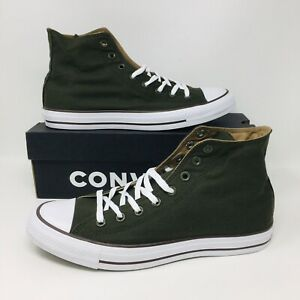 Converse-All-Star-Chuck-Taylor-Men-Athletic-Shoes-Casual-Olive-Green-Sneakers
