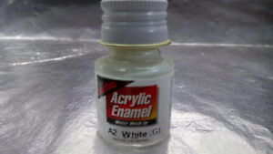 Pactra-Paint-A2-White-G-Acrylic-Enamel-Water-WashUp-10ml-Bottle