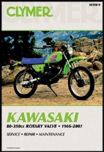 CLYMER MANUAL KAWASAKI M SERIES 1973-1975 KD100 /& KD175 1976-79 KD125 1975-79