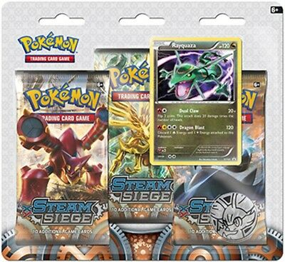 LP Pokemon RAYQUAZA Card BLACK STAR PROMO Set XY141 Blister Pack X and Y Holo