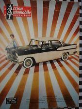 revue ACTION AUTO 1958 HAWTHORN / FORMULE JUNIOR / DETAILS SALON