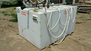 500 Gallon Fuel Tank >> 500 Gallon Above Ground Insulated Diesel Fuel Tank Bakersfield