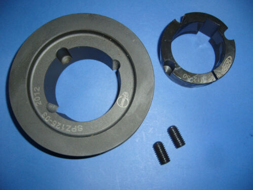 Keilriemenscheibe Riemenscheibe SPA 3 x 132 mm Buchse 2012 incl Bohrung