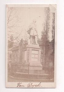 Vintage-CDV-Statue-of-Anthony-Van-Dyke-Antwerp-Begium