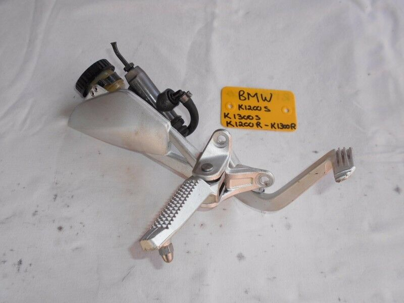 BMW K1300S RIGHT HAND FOOT PEG HANGER ASSEMBLY