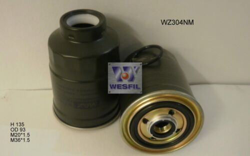 WESFIL FUEL FILTER FOR Mitsubishi Triton 2.8L D//2.8L TD 1996-2006 WZ304NM