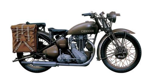 Triumph 3 Hw Motorcycle Kit 1:9 Italeri IT7402