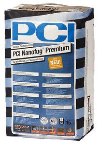 PCI-Nanofug-Premium-15-kg-Sandgrau-Flexfug-fuer-alle-Fliesen-und-Natursteine
