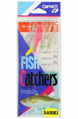 Propriétaire 5526-115 calmar jupe Sabiki Appât Catcher Rig