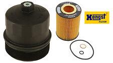 BMW E60 E64 E65 E66 OEM HENGST Cover Cap for Oil Filter Housing + Oil Filter