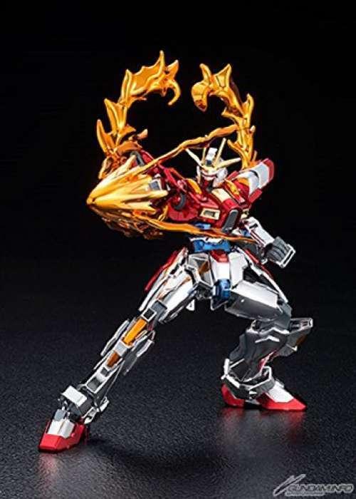 HGBF Build Burning Gundam (Full color Plating Ver.) Bandai Gunpla From Japan F S