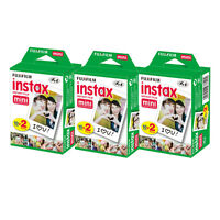 Fujifilm Instax Mini 60 Prints Instant Color Film For Fuji 8 7s 50s 25 Camera