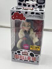 Flocked Funko CRUELLA DE VIL Rock Candy Disney 101 Dalmatians Vinyl Figure