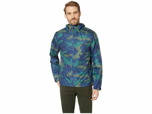 Details about  /$301 Nautica Men/'S Blue Green Print Lightweight Windbreaker Jacket Coat Size M