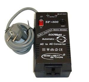 Transformador de corriente de 220 110 y 110 220v 500w - Transformador 220 a 110 ...