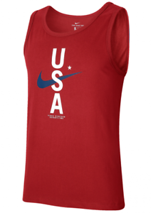 NWT Nike Men/'s Dri-Fit Dry Cotton USA Graphic Tank Top Size S L XL CK0457