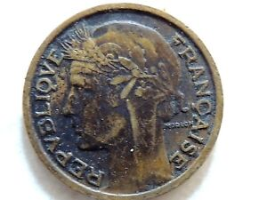 1939 France Fifty (50) Centimes Coin