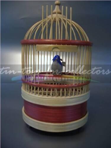 FIGURENAUTOMAT MIT STIMMME SINGING BIRD S MECHANISCHER SINGVOGEL AUTOMAT