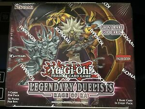Yugioh Legendary Duelist Rage of Ra Factory Sealed Booster Box Unlimited