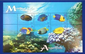 N027-BIOT-BRITISH-INDIAN-OCEAN-322-2006-Angel-Fish-Mint-NH-CV-20