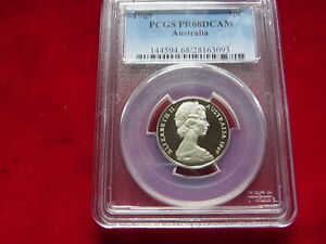 Australia-1969-Ten-Cents-PROOF-PCGS-PR68-DCAM
