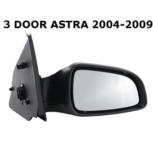 VAUXHALL ASTRA H 2004-2009 3 DOOR ELECTRIC DOOR WING MIRROR DRIVER SIDE OFF SIDE