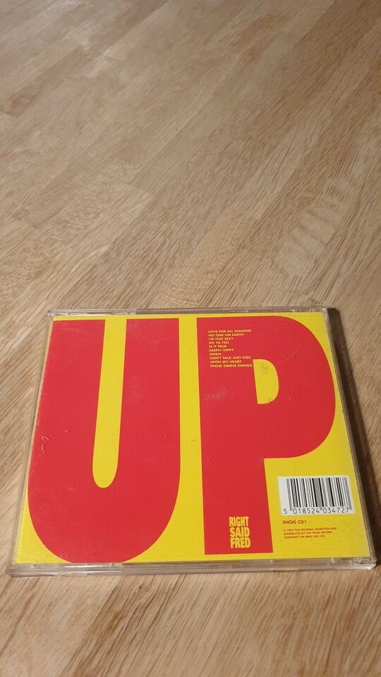Right Said Fred: Up, electronic