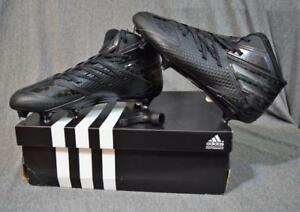 ce747f2fd Adidas Freak X Carbon Mid D Football Cleats D170147 Black Men Size ...