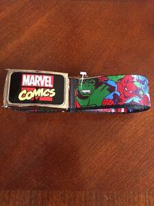 NWT Marvel Original Buckle-Down Captain America Comics Heroes Adjustable Belt