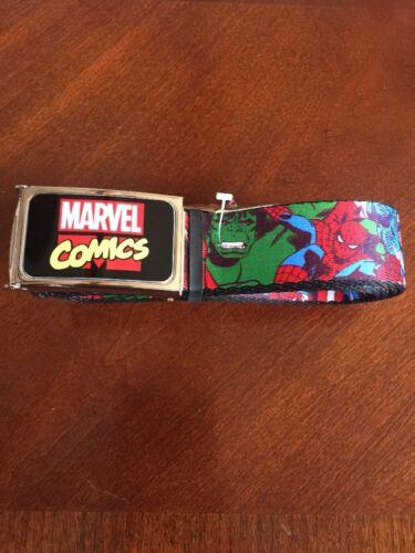 Avengers Hulk Thor Iron Man Buckle Down Belt Marvel Comics Brand New! 0009